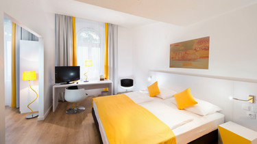 Allergy-friendly superior double room in Düsseldorf City Centre | © Wyndham Garden Düsseldorf City Centre Königsallee